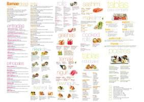 Portada Catálogo Itamae Sushi