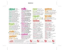 Portada Catálogo Itamae Sushi Delivery
