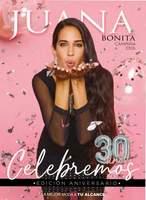 Portada Catálogo Juana Bonita Especiales